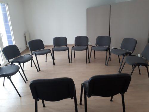configuration salle de réunion atelier au temps pour moi sète
